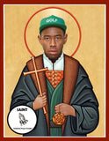 Tyler the Creator Saint Celebrity Prayer Candle Gift