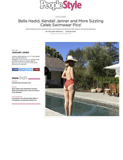 January Jones wears CAMI AND JAX (as seen on PeopleStyle)