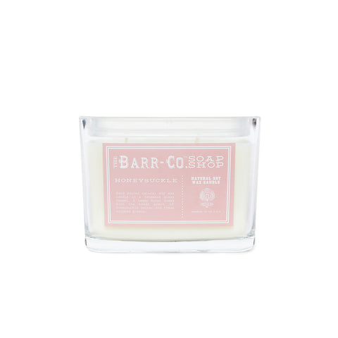 BARR-CO. HONEYSUCKLE 2 WICK CANDLE