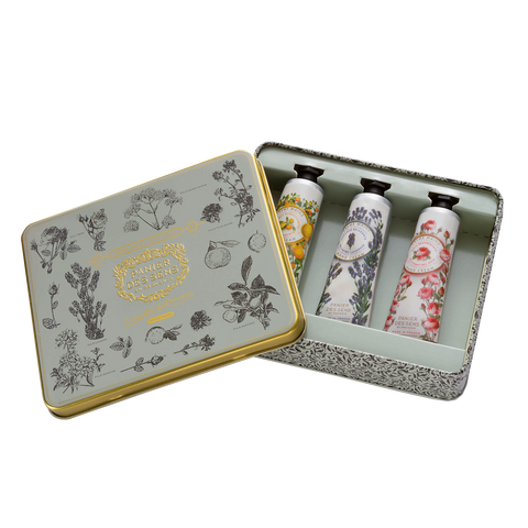 PANIER DES SENS THE ESSENTIALS 3 HAND CREAMS GIFT SET