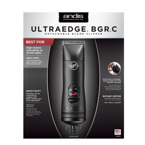 ANDIS BGR®C Detachable Blade Clipper
