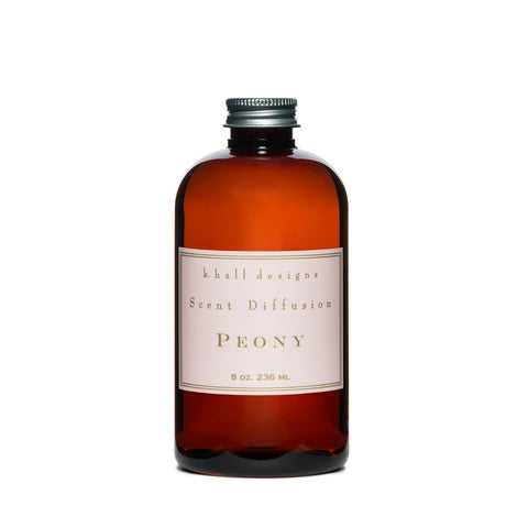 K. HALL DESIGNS PEONY DIFFUSER OIL REFILL