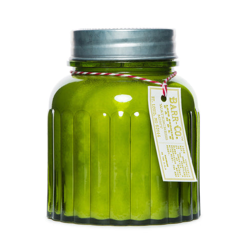 BARR-CO. WATERCRESS MINT APOTHECARY JAR CANDLE