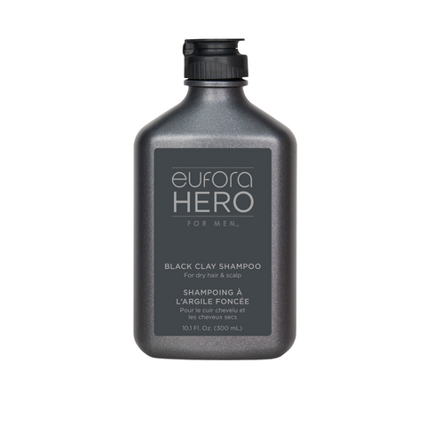 EUFORA HERO FOR MEN BLACK CLAY SHAMPOO