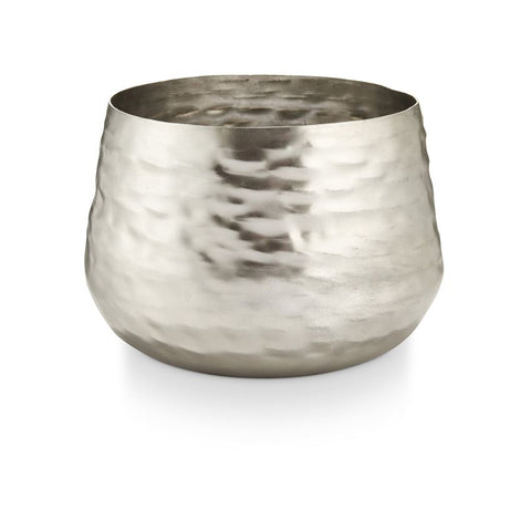 ILLUME Balsam & Cedar Large Textured Metal Candle