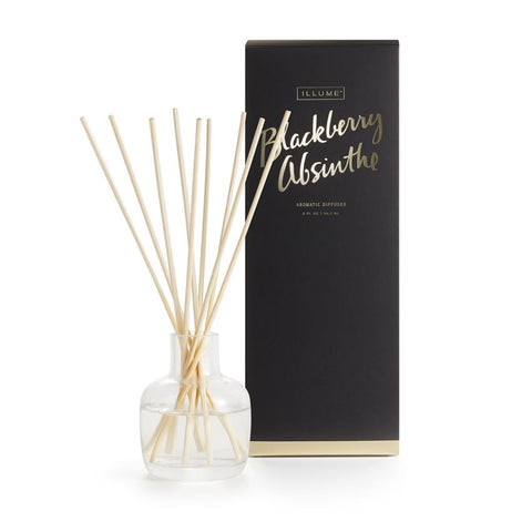 ILLUME ESSENTIALS DIFFUSER - BLACKBERRY ABSINTHE