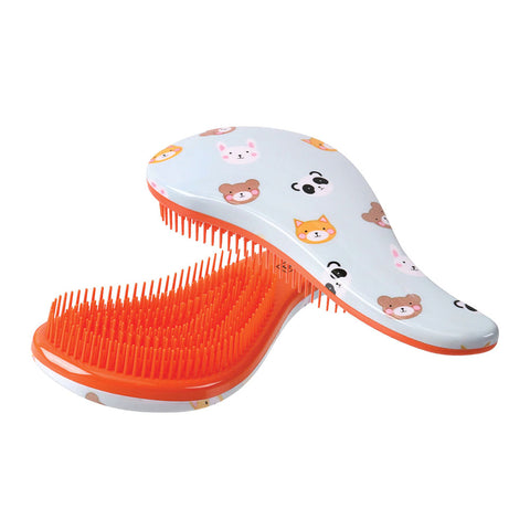 CALA TANGLE-FREE HAIR BRUSH - ANIMAL PARTY