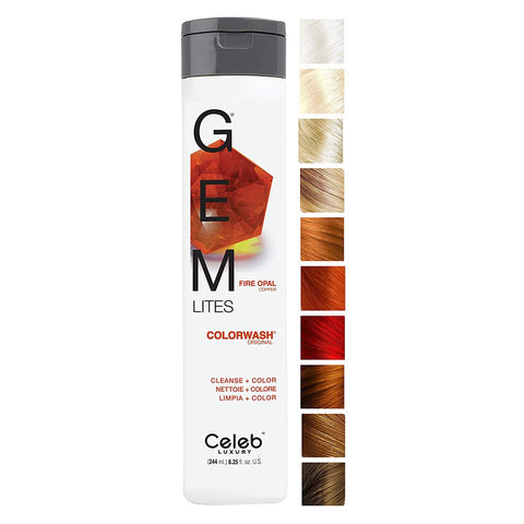 CELEB LUXURY GEM LITES COLORWASH FIRE OPAL
