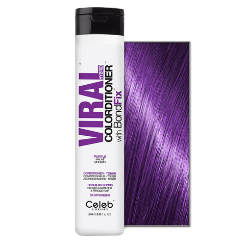 CELEB LUXURY VIRAL COLORDITIONER PURPLE WITH BONDFIX