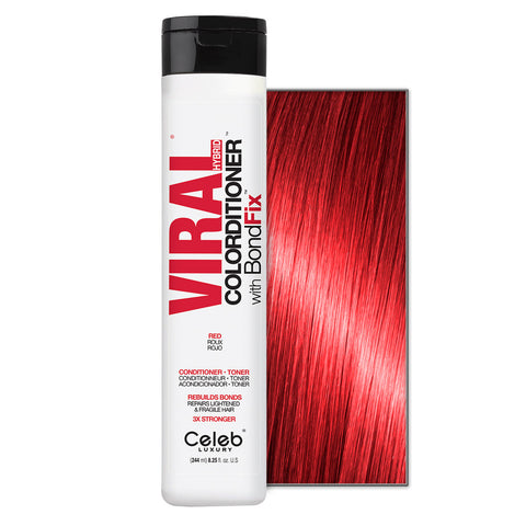 CELEB LUXURY VIRAL COLORDITIONER RED WITH BONDFIX