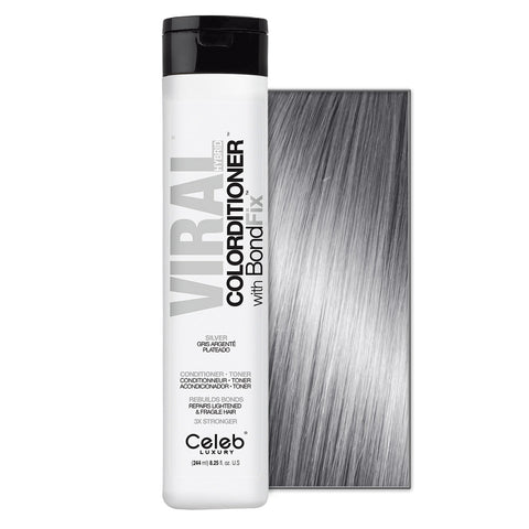 CELEB LUXURY VIRAL COLORDITIONER SILVER WITH BONDFIX