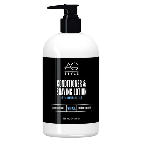 AG HAIR CONDITIONER & SHAVING LOTION