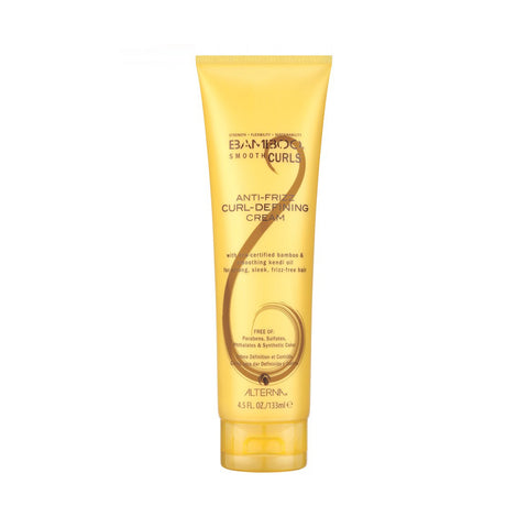 ALTERNA HAIRCARE BAMBOO SMOOTH ANTI-FRIZZ CURL-DEFINING CREAM