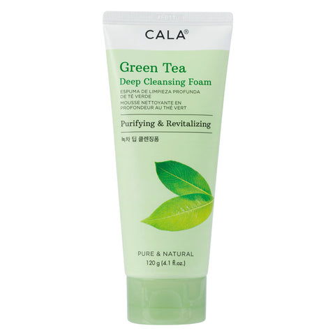 CALA DEEP CLEANSING FOAM - GREEN TEA
