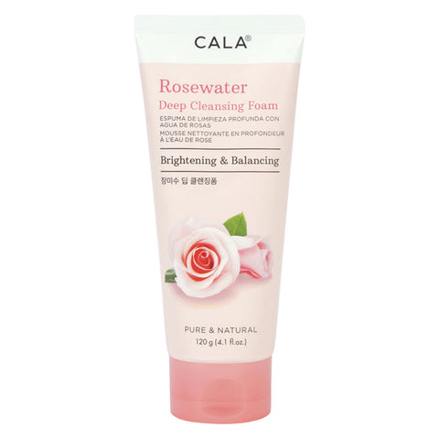 CALA DEEP CLEANSING FOAM ROSEWATER