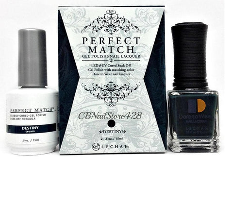 LECHAT Perfect Match DESTINY Gel Polish & Nail Lacquer
