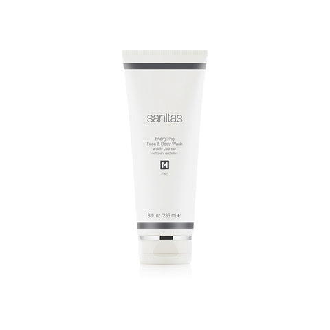 SANITAS Skincare Energizing Face and Body Wash