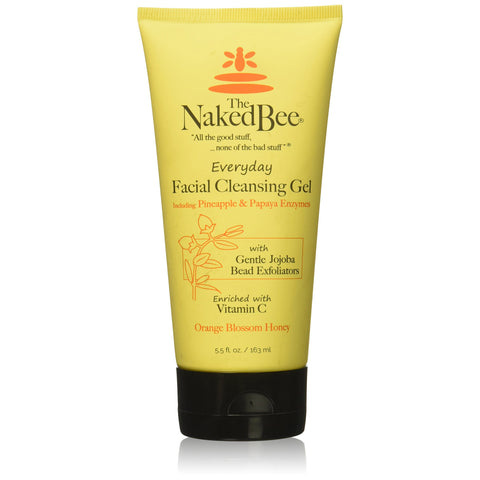 THE NAKED BEE Orange Blossom Honey Everyday Facial Cleansing Gel