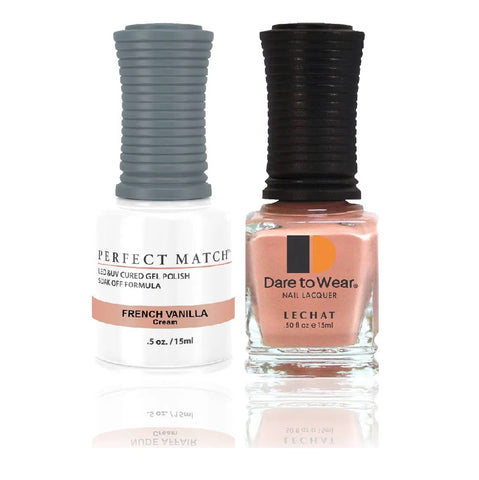 LECHAT Perfect Match FRENCH VANILLA Gel Polish & Nail Lacquer