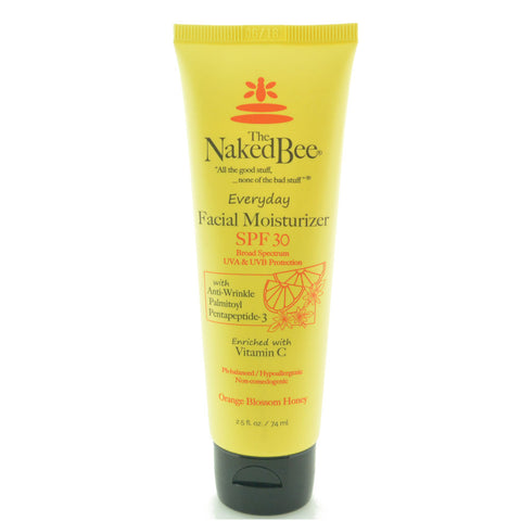 THE NAKED BEE Orange Blossom Honey Facial Moisturizer with SPF 30