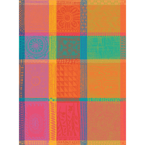 GARNIER-THIEBAUT FRANCE MILLE WAX CREOLE KITCHEN TOWEL