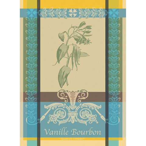 GARNIER-THIEBAUT FRANCE VANILLE BOURBON EDEN KITCHEN TOWEL
