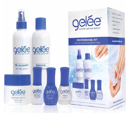 LECHAT Gelée Powder Gel Nail System Professional Kit