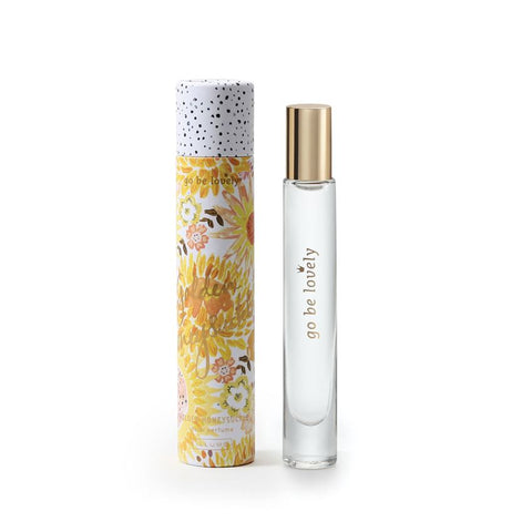 ILLUME GO BE LOVELY ROLLERBALL PERFUME - GOLDEN HONEYSUCKLE