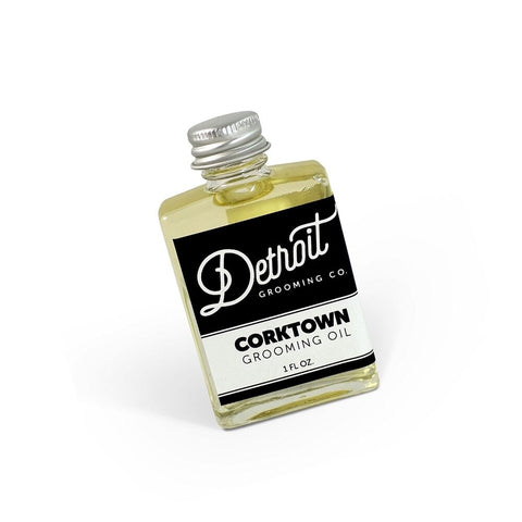 DETROIT GROOMING CO BEARD OIL - CORKTOWN