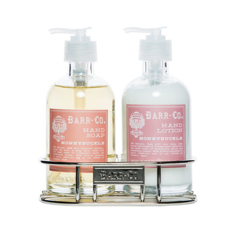 BARR-CO. HONEYSUCKLE HAND & BODY CADDY SET