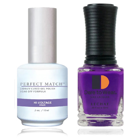LECHAT Perfect Match HI-VOLTAGE Gel Polish & Nail Lacquer