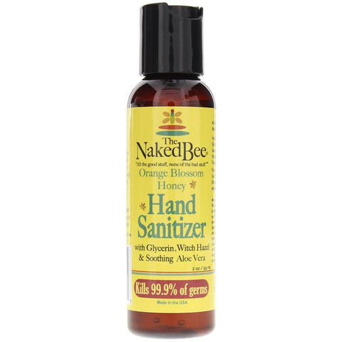 THE NAKED BEE Orange Blossom Honey Hand Sanitizer