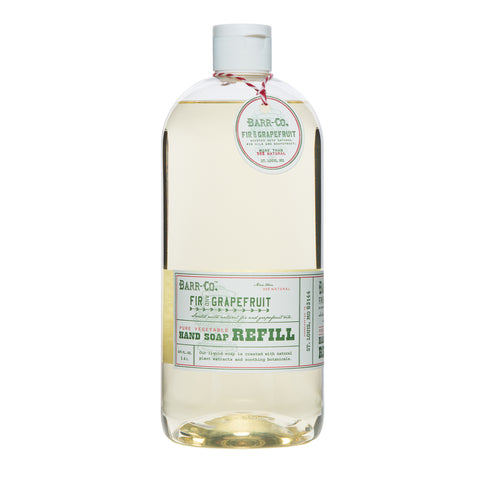 BARR-CO. FIR & GRAPEFRUIT LIQUID SOAP REFILL