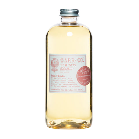 BARR-CO. HONEYSUCKLE HAND SOAP REFILL