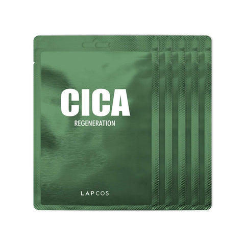 LAPCOS DAILY SKEEN MASK 5 PACK - CICA