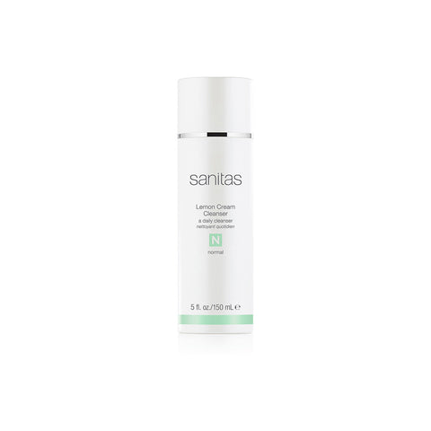 SANITAS Skincare Lemon Cream Cleanser