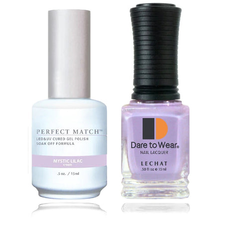LECHAT Perfect Match Mystic Lilac Gel Polish & Nail Lacquer