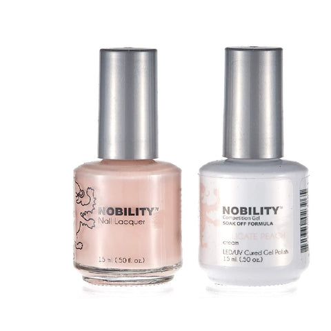 LECHAT NOBILITY GEL AND LACQUER SET - DELICATE PEACH