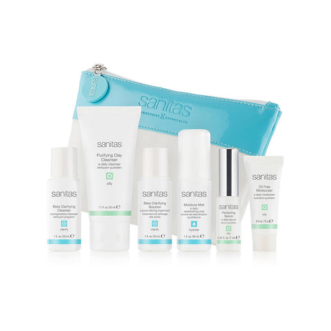 SANITAS Skincare Oily System Kit