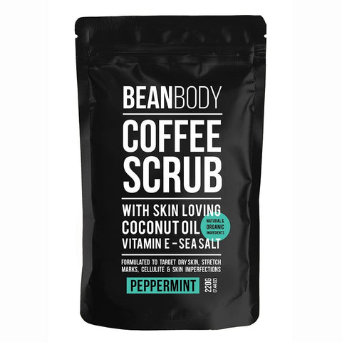 BEAN BODY PEPPERMINT COFFEE SCRUB