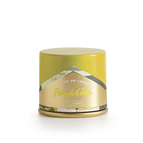 ILLUME LUXURY SOY CANDLE Vanity Tin - PINEAPPLE CILANTRO