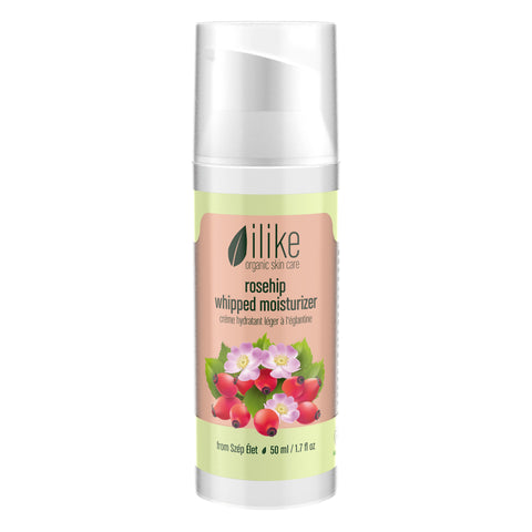 ILIKE WHIPPED MOISTURIZER - ROSEHIP