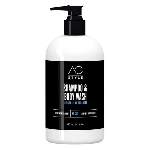 AG HAIR SHAMPOO & BODY WASH