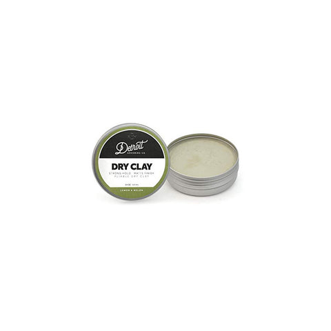 DETROIT GROOMING CO MATTE HAIR CLAY - PLIABLE DRY CLAY