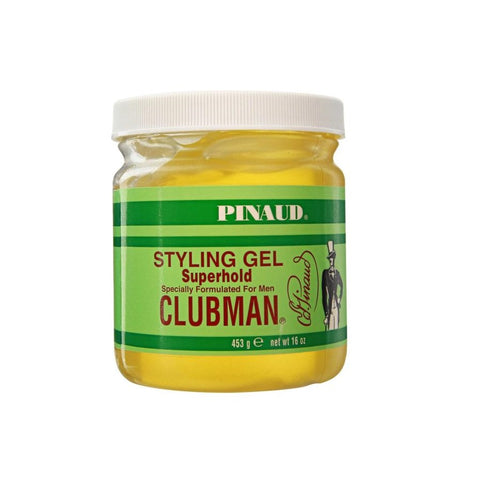 CLUBMAN PINAUD SUPERHOLD STYLING GEL 16 OZ