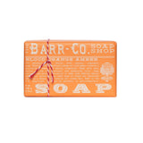 BARR-CO. BLOOD ORANGE AMBER TRIPLE MILLED BAR SOAP
