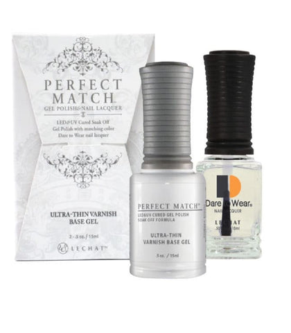 LECHAT Perfect Match ULTRA THIN VARNISH BASE Gel Polish & Nail Lacquer