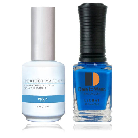 LECHAT Perfect Match DIVE IN Gel Polish & Nail Lacquer