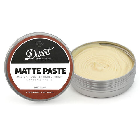 DETROIT GROOMING CO HAIR PASTE - MATTE PASTE - SHAPING PASTE