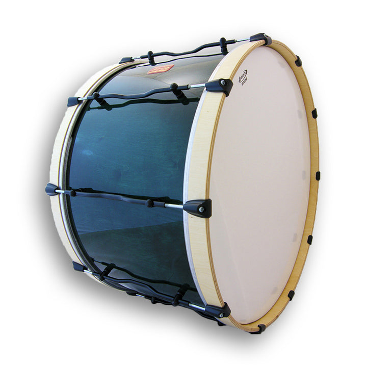 Andante Pipe Band Bass Drum Blue